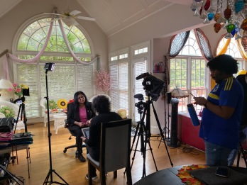 Teenaa Kaur interviewing Dr. Veena Rao, Breast Cancer Researcher